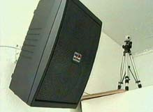 Speaker and tracking camera